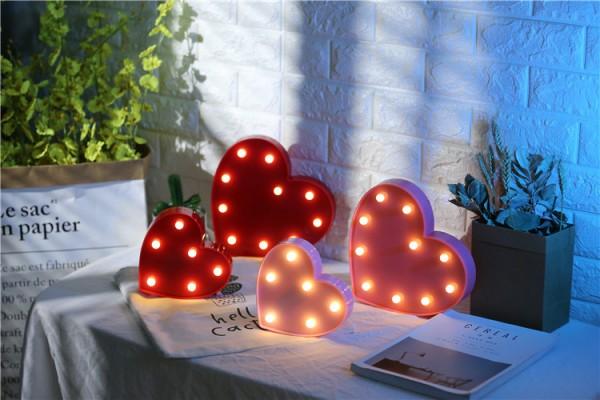 Креативный светильник сердце