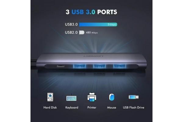 Универсальный адаптер UGreen Dock Adapter (CM136/50209)