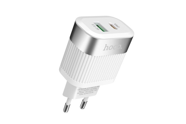 Зарядное устройство Hoco C58A Prominent PD + QC3.0 EU