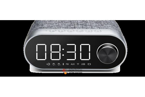 Колонка + часы + будильник Remax RB-M26