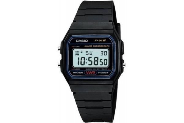 Наручные часы Casio F91W-1 Classic Resin Strap Digital Sport Watch