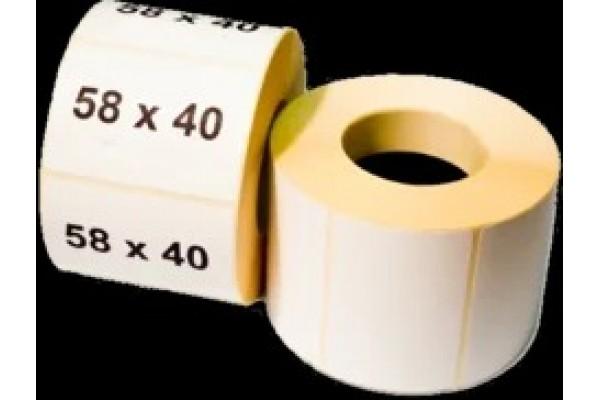 Наклейка для штрих кодов 58*40 (600)