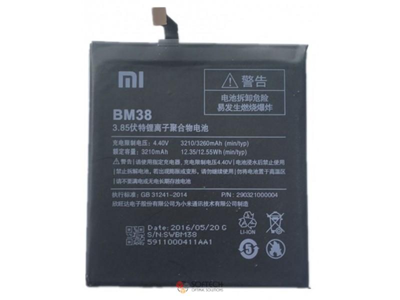 Аккумулятор Xiaomi Mi4s / BM38
