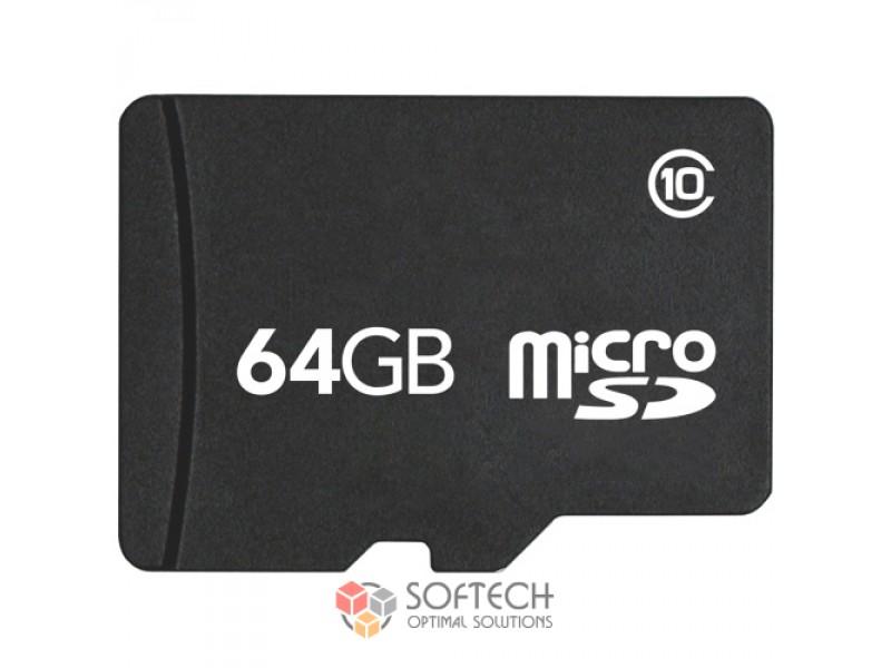 MicroSDHC 64GB Class10 (OEM)