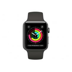 Смарт-часы Apple Watch Series 3 38mm Space Grey Aluminum Case with Grey Sport Band