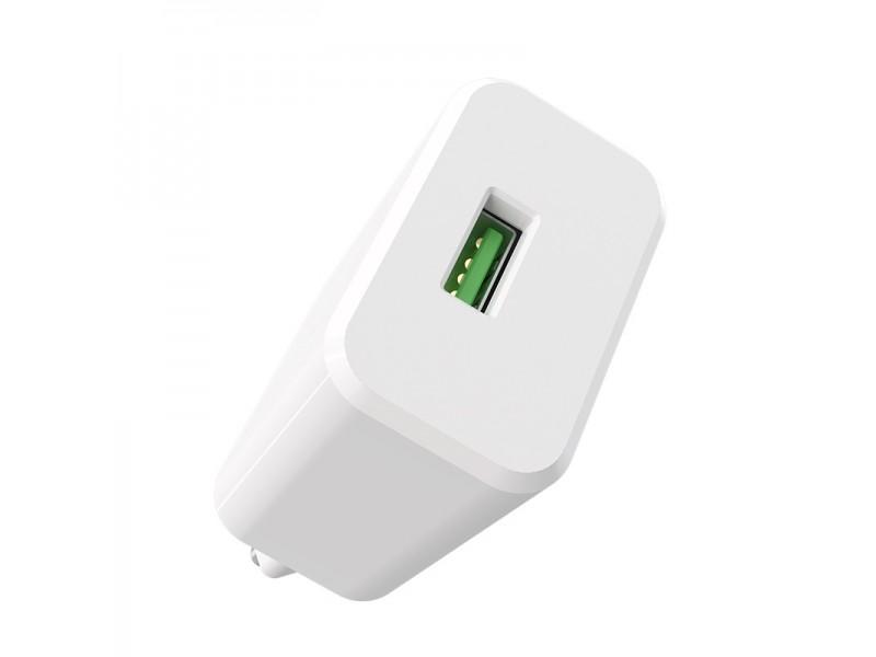 Зарядное устройство Borofone BA32A QC 3.0 Type-C EU
