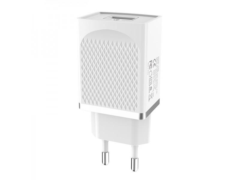 Зарядное устройство Hoco C42A Vast power QC 3.0 EU