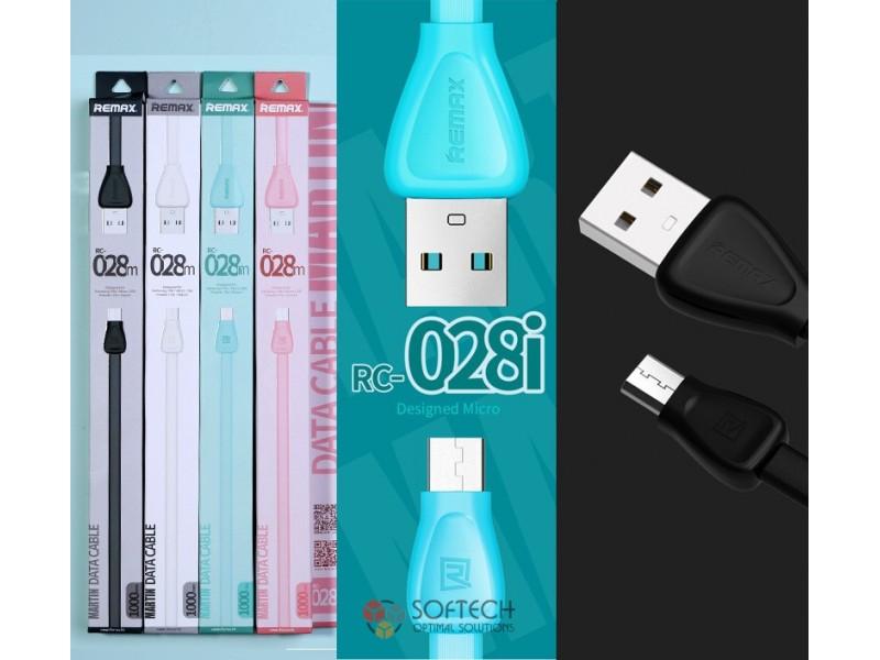 USB кабель Remax RC- 028i Martin (Lightning)