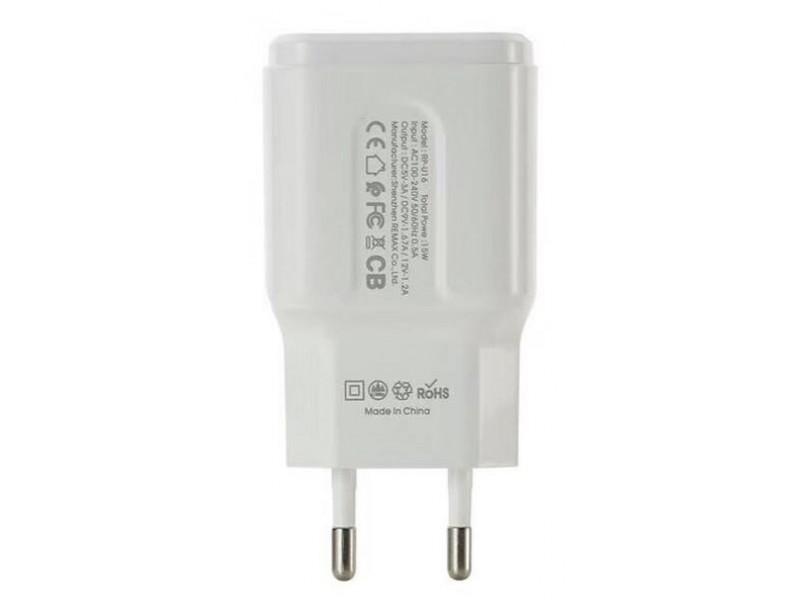 Зарядное устройство Remax RP-U16 2.4A 3.0 Quick Charger