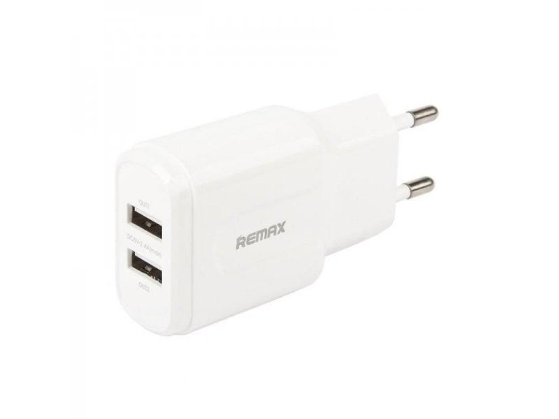 Зарядное устройство Remax RP-U22 2USB 2.4A Lightning + кабель USB-iP
