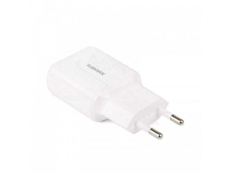 Зарядное устройство Remax RP-U22 2USB 2.4A Type-C + кабель USB-iP