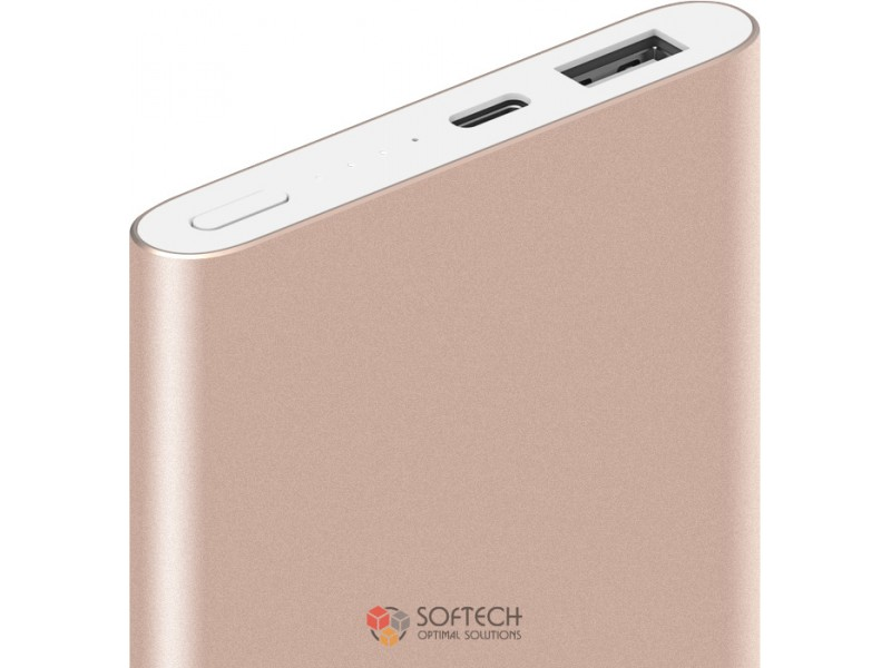 Xiaomi Mi Power Bank 10000 mAh Pro (Type-C) Gold