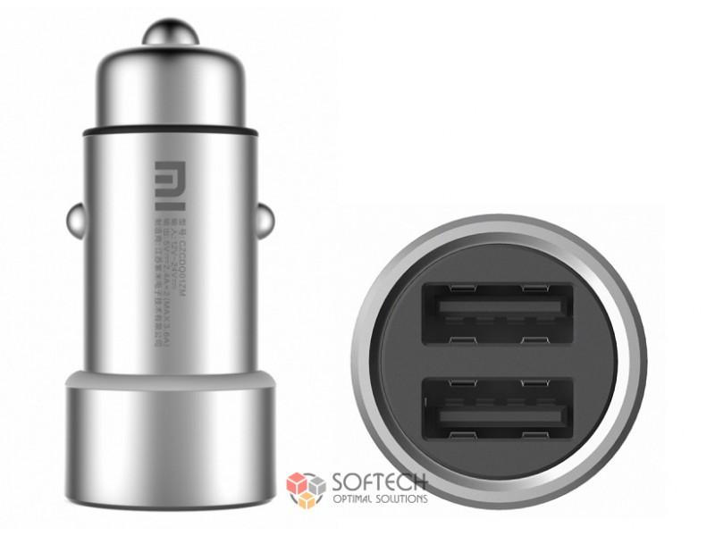 Авто зарядка Xiaomi Car Charger Silver