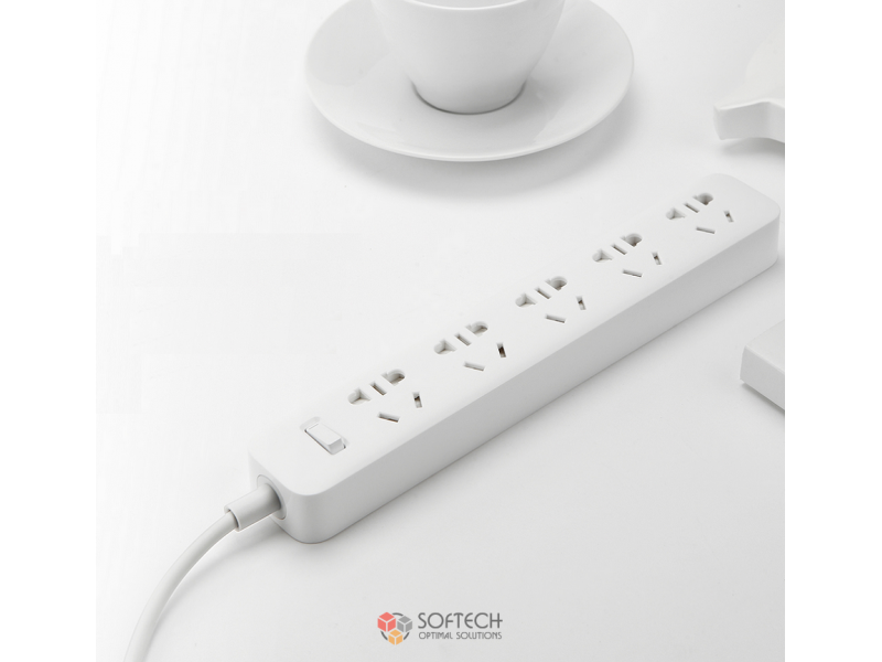 Удлинитель Xiaomi Mi Power Strip 5 розеток