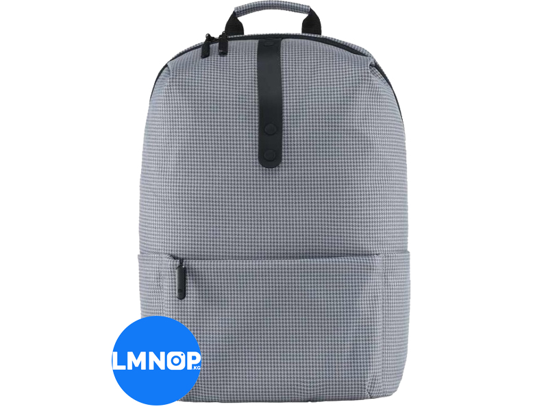 Рюкзак RunMi 90GOFUN College Leisure Shoulder Bag Gray