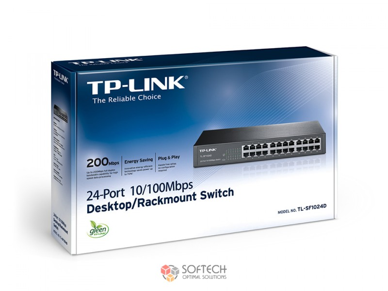 Wi-Fi Роутер TL-SF1024D 24-port