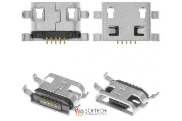 Micro USB разъём для зарядки Redmi 5