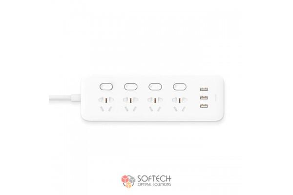 Удлинитель Xiaomi Mi Power Strip 4 розетки и 3 USB порта EU
