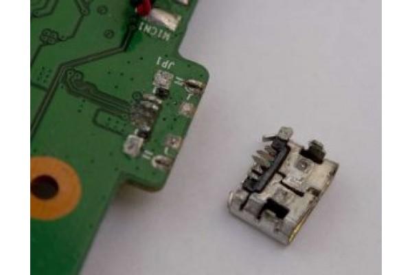 Замена разъема USB
