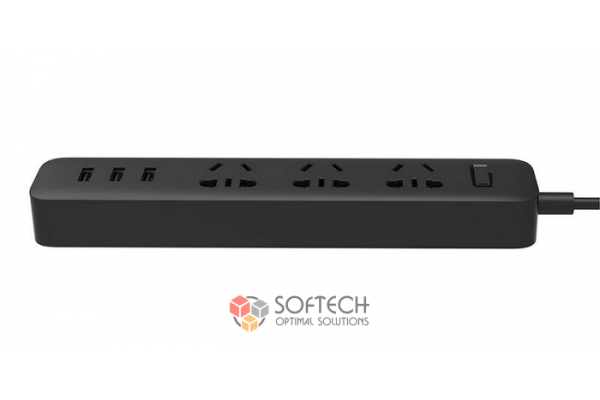 Удлинитель Xiaomi Mi Power Strip 3 розетки и 3 USB порта