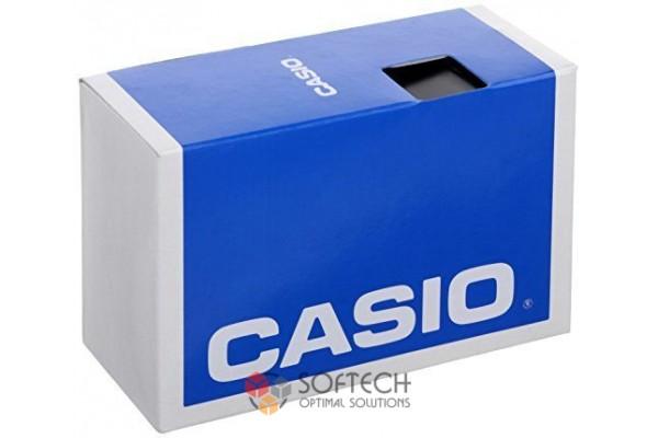 Мужские спортивные часы Casio W800H-1AV с черным ремешком