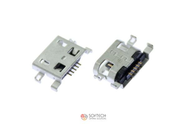 Micro USB разъём для зарядки Redmi 4X