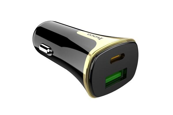 Автомобильное зарядное устройство Hoco (Z31A)