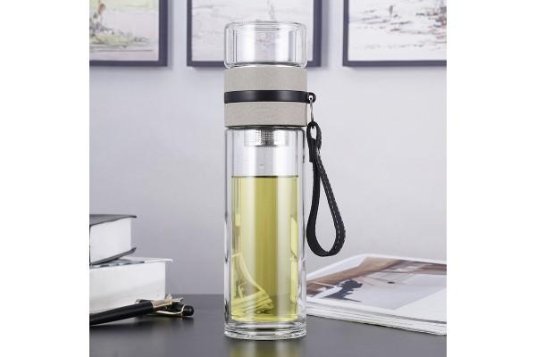 Бутылка для воды 500ml (стекло)
