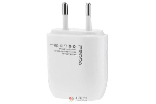 Зарядка Remax Proda RP-U21 EU с кабелем (lighting)