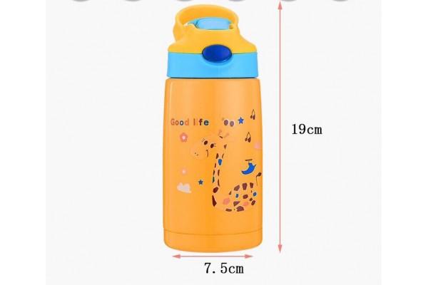 Детский термос с чехлом 400ml