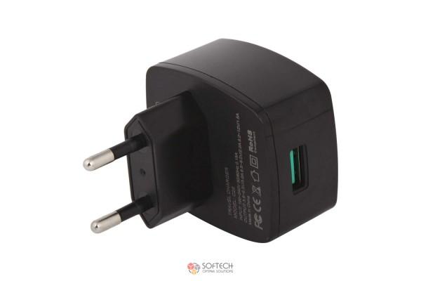 Сетевое зарядное устройство Hoco C26 Quick Charge Qualcomm QC3.0