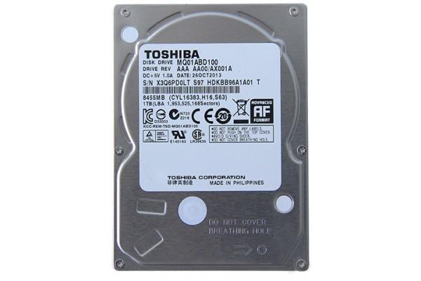 "Жесткий диск Toshiba 1ТБ 5400rpm SATAII 2.5"""