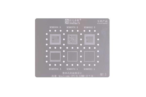 Трафарет Qualcom CPU - 0-12 mm  QU-5