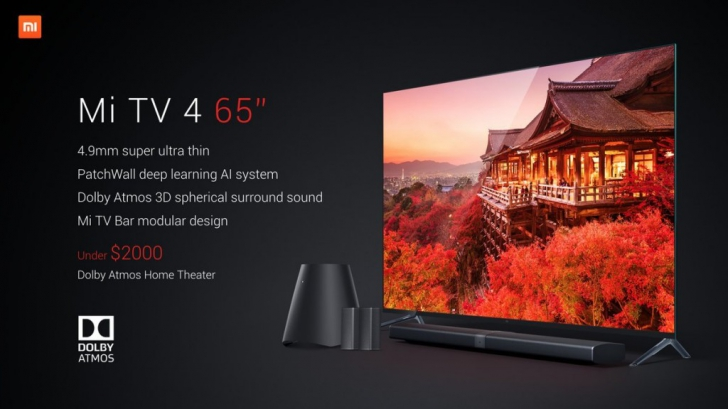 Xiaomi представила модульный телевизор Mi TV 4