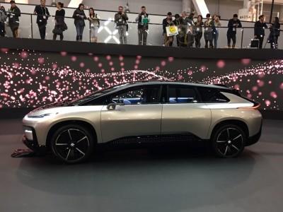 Faraday Future FF91 стал основным конкурентом Tesla