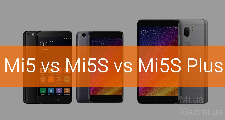 Детальное сравнение смартфонов Mi5 Pro VS Mi5S и Mi5S Plus