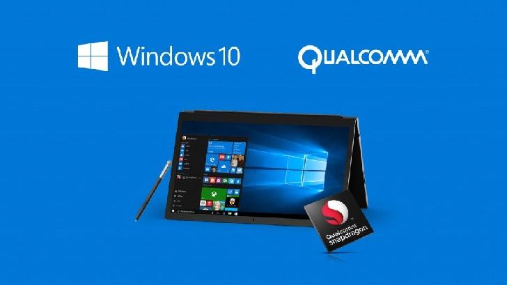 Snapdragon 835 поддерживает Windows 10