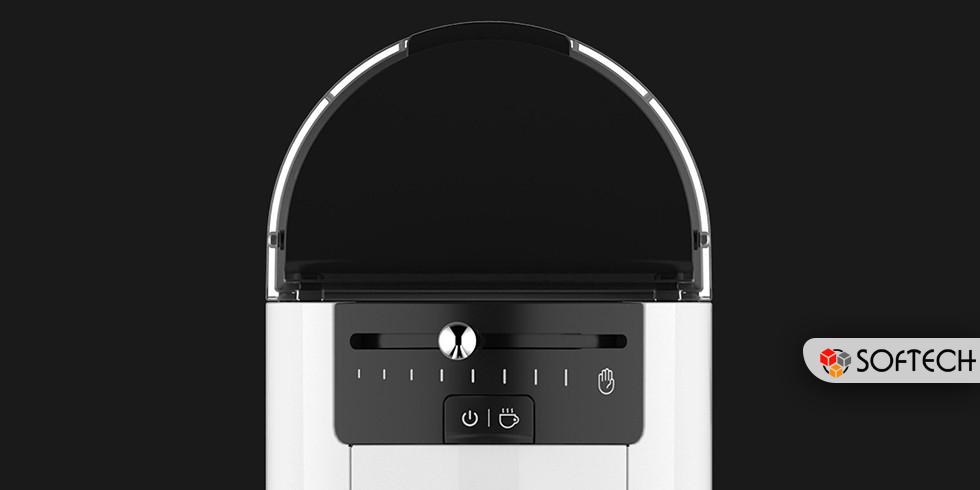 a4e2b4e760d4 Помимо этого, оно оснащено LED индикаторами и специальным рычагом  управления, а за счет использования капсул кофеварку легко чистить.