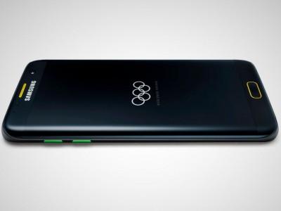 Samsung раздаст спортсменам 12 тысяч Galaxy S7 Edge Olympic Games Edition