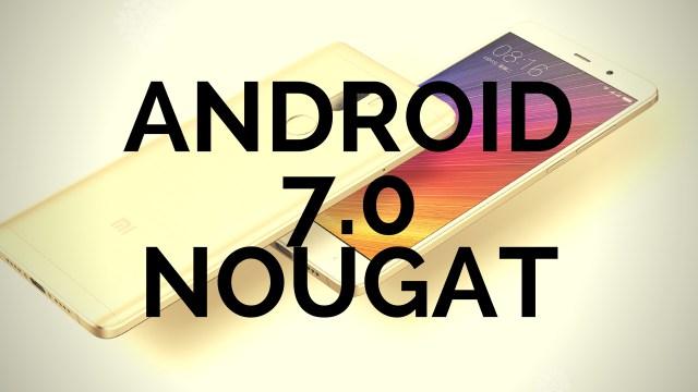 Опубликован список смартфонов Mi которые получат Android7