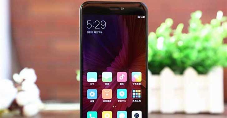 Галерея фото нового смартфона Xiaomi Mi5C в черном цвете