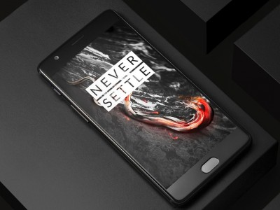 OnePlus 3T в чёрном цвете будет доступен для всех желающих