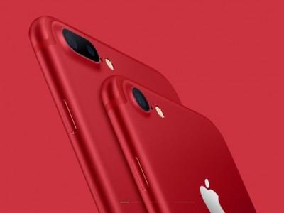 Apple iPhone 7 и iPhone 7 Plus дебютировали в красном цвете