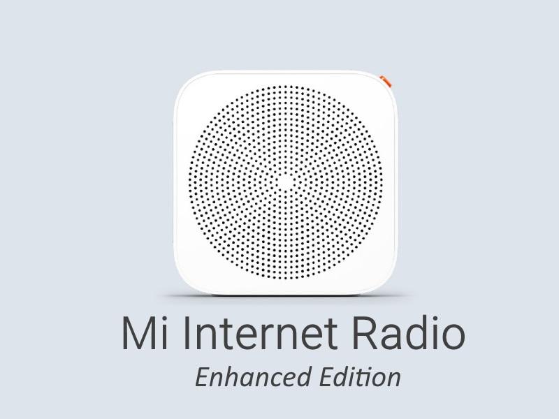 Xiaomi представила Mi Internet Radio Enhanced Edition