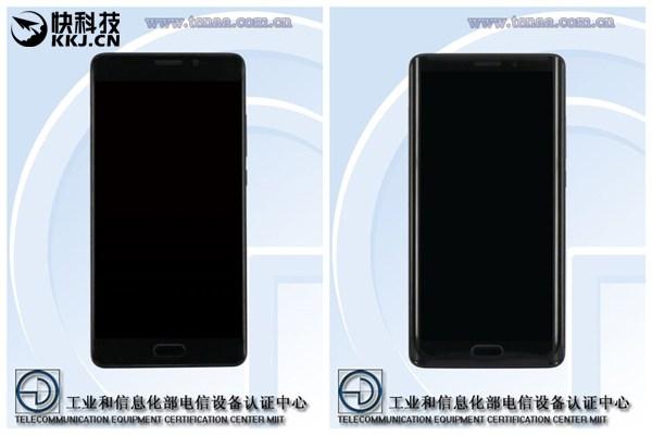 Xiaomi готовит плоскую версию Mi Note 2