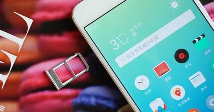 Официальные фото смартфона Meizu X с новым дизайном